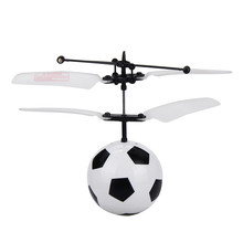 Best Seller RC Ball Mini Wireless Remote Control Flashing Football Remote Toys For Kids RC Drone Helicopter Wholesale(China)