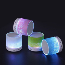 Colorful Led Light Bluetooth Speaker Column Portable Small Mini Bluetooth Speakers Wireless Smart Hands Free Shipping
