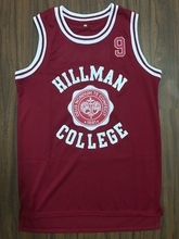 New Dwayne Wayne 9 Hillman College Theater Basketball Jersey Red All stitched(China)