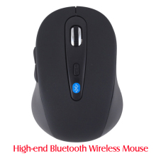 Bluetooth V3.0 Optical Wireless Mouse computer mice souris bluetooth mouse mini mouse For Win8 Android Tablet Surface Hot Sale(China)