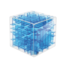 Green Maze Magic Cube Puzzle 3D Mini Speed Cube Labyrinth Rolling Ball Toys Puzzle Game Cubos Magicos Learning Toys For Children