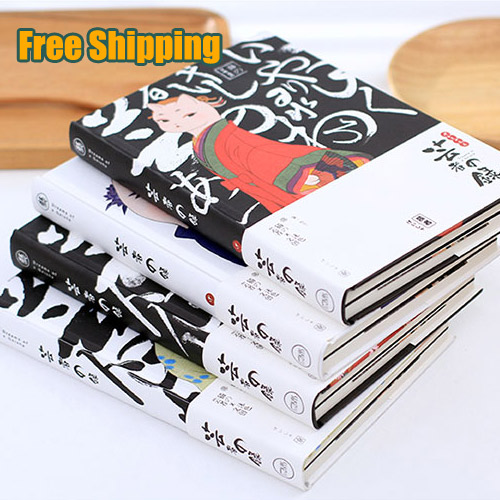 Blank DIY sketchbook the painting doodle book notepad A5 notebook beautiful thick notebook cat gift<br><br>Aliexpress
