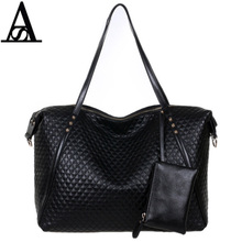 Aitesen Large black Alligator PU leather Tote Bags for Women Famous Brands Sac A Main Mochila Feminina Bolsa tas Michael Bags