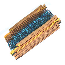 Free Shipping 600 Pcs 1/4W 1% 20 Kinds Each Value Metal Film Resistor Assortment Kit Set pack electronic diy kit