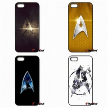 Stunning Star Trek Logo Hard Plastic Frame Phone Case For iPhone 4 4S 5 5C SE 6 6S 7 Plus Galaxy J5 J3 A5 A3 2016 S5 S7 S6 Edge