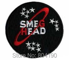 RED DWARF SMEGHEAD Science TV MOVIE Iron On/Sew On Patch Tshirt TRANSFER MOTIF APPLIQUE Rock Punk Badge Wholesale Free shipping