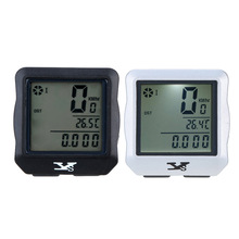 YS Bicycle Computer Wireless Waterproof Multifunction Bike Odometer Cycling Speedometer Backlight Backlit Bicycle Accessories