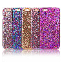Luxury Fashion Candy Sparkling Phone Case Cover Crystal Bling For Apple Iphone 6 Plus 6s Plus via China Post Registered Air Mail