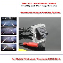 HD SONY Car Rear Camera For Buick First Land / Firstland 2012 2013 Intelligent Parking Tracks Reverse Backup Camere NTSC RCA AUX