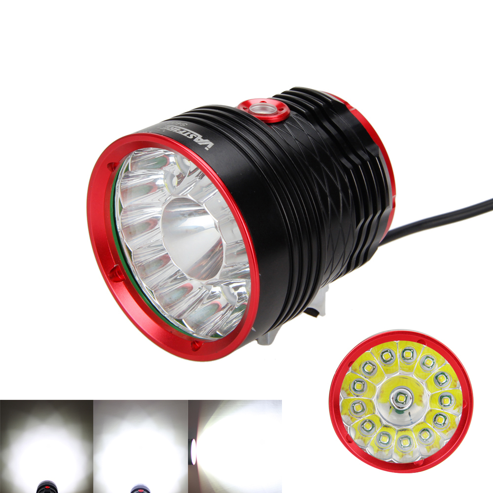 Aluminum 30000lm 14x XML T6 LED Front LED Cycle Light bicycle light set Torch Headlight <br>