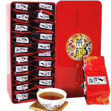 140g Fujian Wuyi Mountain Dahongpao Baking Luzhou Type Original Oolong Black Tea Big Red Robe Green Food Da Hong Pao Gift Box