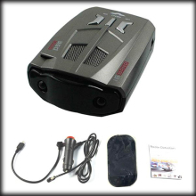 by DHL or EMS 20 pieces Car Radar Detector 16 Band Auto 360 Degrees Laser Detectors Russian Version (V9)(China)