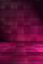 Laeacco Dark Purple Plaids Brick Wall Floor Scene Photography Backdrops Vinyl Customizable Photo Backgrounds For Photo Studio