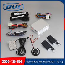 Alarm System PKE Engine Start Stop Push Button System Keyless Entry with Remote Control Car Alarm System(China)