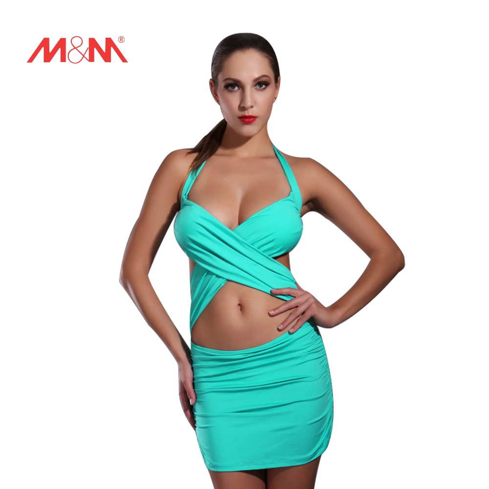 2016 Corss Swimsuit Sexy Bathing Suit Swimwear Solid Color Bikini Set Biquini Push Up Bikini Maillot De Bain SAKJ1602<br>