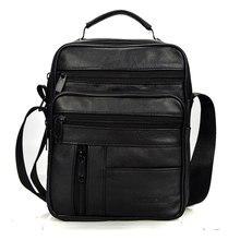 Brand Men Bag 2018 Fashion Mens Shoulder Bags High Quality Leather Casual Messenger Bag Business Men's Travel Bags Handbags