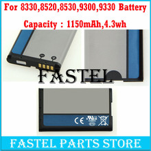 New C-S2 CS2 Li-ion Mobile Phone Battery For Blackberry 8330/8520/8530/3G 9300/9330,1150mAh,High Quality(China)