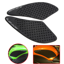 High Quality Anti Slip Motorcycle Fiber Tank Sticker Pad Side Knee Grip Protector For Kawasaki ZX6R 2007 2008 ZX-6R ZX 6R 07 08