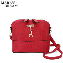 Mara's Dream 2017 Women Messenger Bags Fashion Bag With Deer Toy Shell Shape Bag Women Shoulder Crossbody Bags Free Shipping