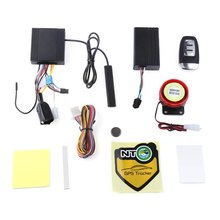 Two Way LCD Motorcycle Alarm System NTG02P PKE Keyless Entry Auto Lock Unlock Remote Central Kit with GPS Precise Locating