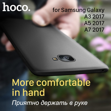 HOCO for Samsung Galaxy A3 A5 A7 2017 Matte Protective Case Ultra thin Soft Cover Premium Frosted Cases Shell Phone Protection(Hong Kong)