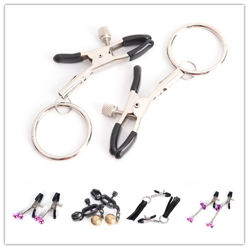 Breast Clip Nipple Clamps With Metal Chain For Women Couples Slave Bdsm Milk Clip Exotic Accessories Nipple Clamps Multi Styles