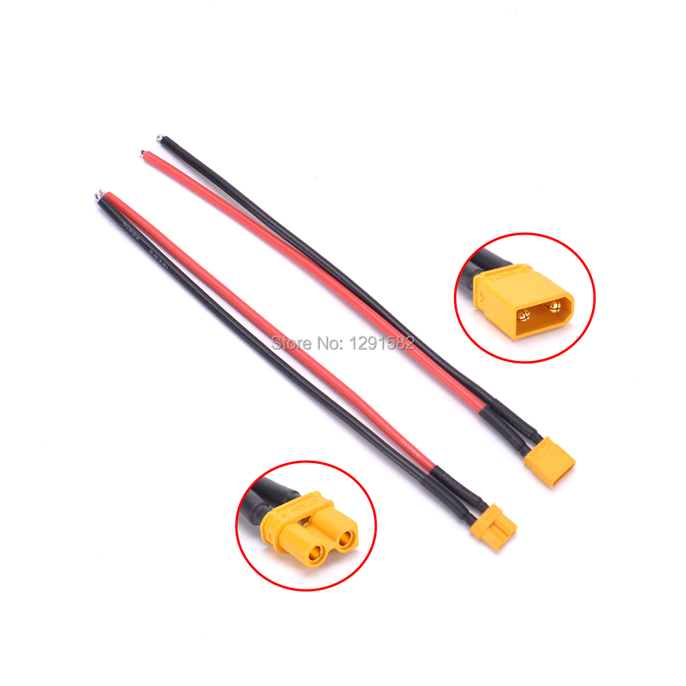 Tamiya Female to XT30 Male Adapter 18AWG 5CM cable For Lipo Battery Quadcopter