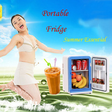 High Quality Mini Nevera Home Dormitory Refrigerator Cold-Hot Dual Purpose Refrigerator Portable Fridge