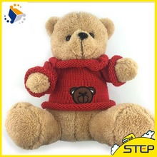 30CM Super Soft Teddy Bear Plush Toys Red Sweater Bear Toy Best Price Promotion Soft Toys for Kids ST059