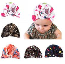 ON SALE 1PCS New photography props Bohemia Style Flower Hat Dots Crochet Knot Beanie Cap