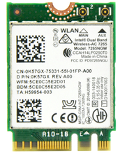 802.11AC Dual Band 867Mbps AC7265 M2 NGFF Mini WiFi Card for Intel 7265NGW Wireless-AC 7265 + Bluetooth 4.0 Better Than AC7260