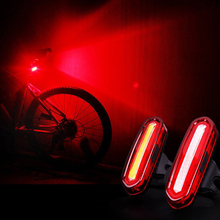 Bike Accessories COB LED USB Rechargeable Flash Cycling Tail Light Laser Lamp Safety Warning Bicycle Rear Bike Light Taillight