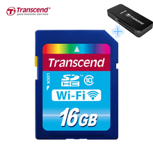 Transcend 32GB Wi-Fi SDHC Wireless LAN MemoryCard +Card Reader Tracking include