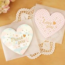 2017 New Darling Universal Graduate Elegant Love Valentine Card Wishes Thank You Card Greeting Cards Wedding Decoration Cards