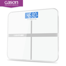GASON A1 Bathroom floor scales smart household electronic digital Body bariatric LCD display Division value 180KG/50G