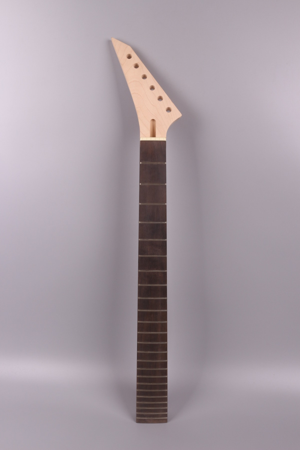 electric guitar neck 22 fret 25.5 maple Locking nut  JKX style yinfente 010#  Locking nut left hand <br>
