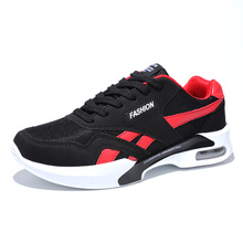 New Arrival 2017 Sport Shoes Men Running Shoes Brand Athletic Shoes Red White Shoes Men Sneakers Comfortable Athletic Trainers