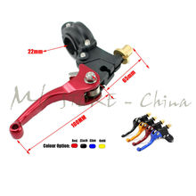 Alloy ASV F3 Short Clutch Folding Lever Racing Motorcycle Pit Dirt Bike IRBISKLX(China)