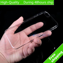 High Quality For iPhone 7 iPhone 7 Plus iPhone7 iPhone 6 6s Plus i5 5s SE i4 4S Ultra Thin Crystal Clear Plastic Hard Case Cover