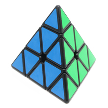 Pyraminx Magico Cube Original Magic Speed Cube Pyramid Magic Cube Professional Learning Toy Puzzle Educational Toys For Children(China)