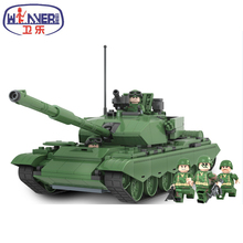 Winner Century Military WW2 German Panzer Tank 3D Model 99 Main Battle Tank Building Blocks Toy Compatible with Kids Toys Gifts(China)