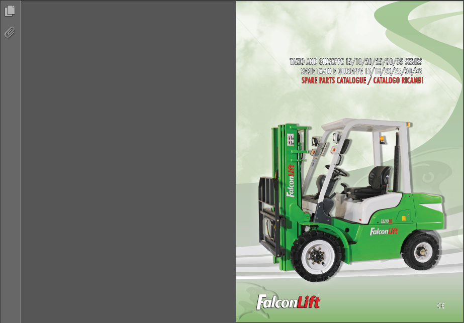 Falconlift Forklifts Spare parts Books &amp; Operators Manual<br><br>Aliexpress