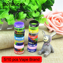 Buy 5pcs/10pcs silicone rubber vape ring decorative band mechanical mods decorative protection vape rubber vape bands 18650 for $2.00 in AliExpress store