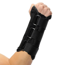 Maphissus 1Pcs New Arrival Black Wrist Support Brace Support Pads Sprain Forearm Splint Band Strap Protector Sports Safety