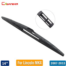 "Cawanerl 350mm Automotive Back Windscreen Wiper For Lincoln MKX 2007-2013 Car Rubber Rear Window Wiper Blade 14"" 1 Piece"