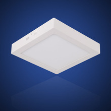 (EICEO) Square Surface Mounted LED Ceiling Light Panel Downlight Flat Modern Lamp 3w/6w/12w/18w Cuting220V 240V Smd2835 Aluminum
