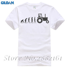 Farmer Evolution Funny Agriculture Tractor Farm Farming T-shirt 3D T Shirt Men Plus Size Cotton Tops Tee