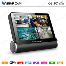 VStarcam NVS-K200 4CH NVR Wireless Network Video Server 960P HD WIFI Monitor With 7 inch Capacitive Touch Screen baby monitor(China)
