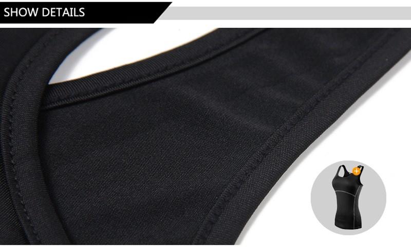 Seven Joe Yoga Tops women Sexy Gym Sports Vest Fitness Running tight Sleeveless shirt Quick Dry Fit Tank Top Yoga Wear clothing 9