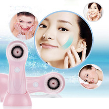 Multifunctional Electric Face Facial Cleansing Tools Household USB Rechargeable Facial Washing Cleaning Brush Machine(China)